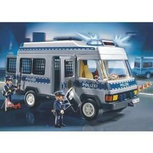PLAYMOBIL 4022 Playmobil Police Van: .co.uk: Toys & Games