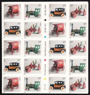 2002   ANTIQUE TOYS   # 3645e Mint  MNH  Pane #V2221