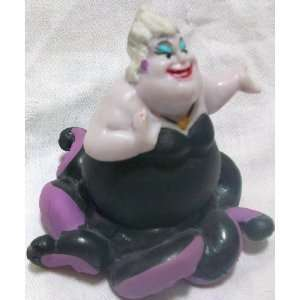 Disney Little Mermaid Ariel, Ursula 3 Figure Doll Toy, Cake Topper