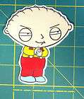 Stewie Griffin family guy funny Decals /Stickers Free Shipping