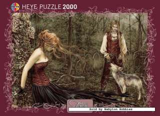 of Heye 2000 pieces jigsaw puzzle Victoria Frances   Wolf (29250
