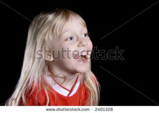 Cute Little Girl Laughing Out Loud Stock Photo 2401328  Shutterstock