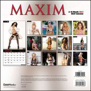 > Trends International LLC >Maxim Exclusive 2012 Wall Calendar
