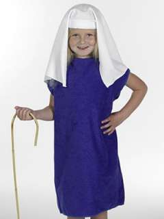 Mary Childrens Christmas Nativity Costume Dressing Up Clothes