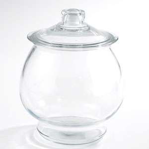 Anchor Hocking Large Glass Cookie Jar