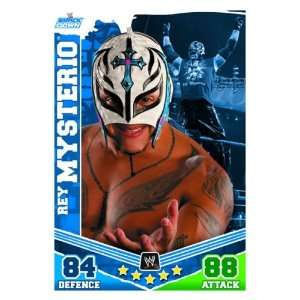 Rey MYSTERIO Smackdown Slam Attax MAYHEM Trading Card .co.uk