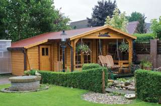 Alexei 45mm Log Cabin 5.85x4.3m Storage shed