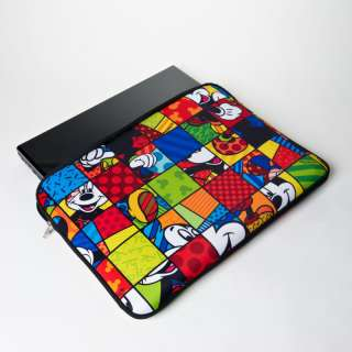 AUTHENTIC ROMERO BRITTO MICKEY MOUSE LAPTOP BAG 17 INCHES
