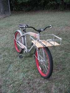 2010 New Belgium Brewery Felt Cruiser Bicycle Fat Tire Bike #409