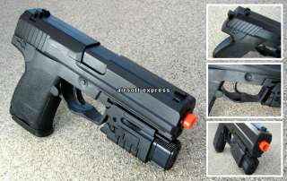 AIRSOFT HAND GUN PISTOL AIR SOFT TOY LASER LIGHT w/ BBs
