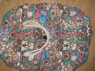 Teddy Bear Balloon Infant Carrier Car Seat Winter Cover Blanket Heavy