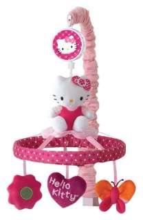 Ivy 7 Piece Crib Bedding Set Hello Kitty Garden Includes Mobile NEW
