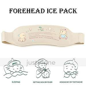 Reusable Baby Family Health Care Hot Cold Forehead Ice Compress