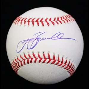 Jeff Bagwell Signed Autograph Oml Baseball Ball Psa/dna