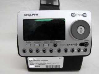 Delphi Satellite Radio Receiver SA50000 XM Radio PARTS/REPAIR AS IS