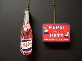PEPSI SODA POP BOTTLE PETE CEILING FAN PULL PULLS
