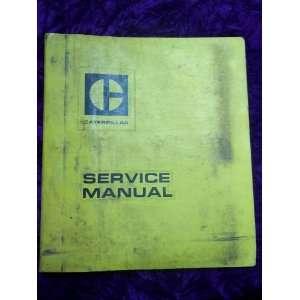 Caterpillar 1673C Diesel Truck Engine OEM Service Manual Caterpillar