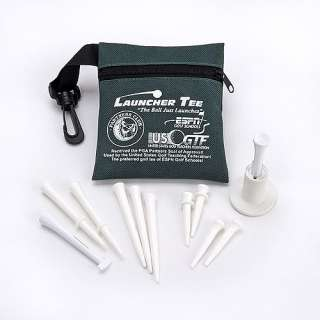 Launcher Tee Pro Series High Performance Golf Tee Combo