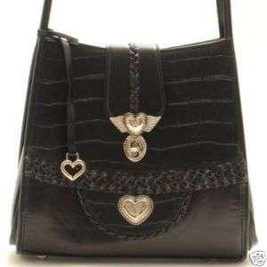 Designer Inspired Black Purse Handbag Hand Bag Tote NEW