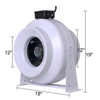12 Hydroponics Inline Duct Fan 12 Inch Exhaust Blower