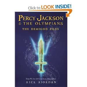 Files (A Percy Jackson and the Olympians Guide): Rick Riordan: Books