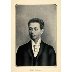 1905 Duotone Print Emilio Aguinaldo Filipino Philippines