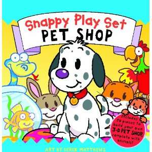 Pet Shop (Snappy Play Set) (9781848774391) Rachel Williams Books