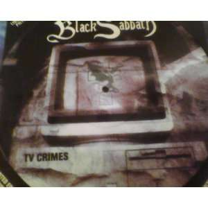 Tv Crimes Picture Disc Lp Autographed Signed By Ronnie James Dio