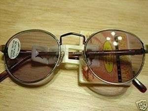 Foster Grant Antique Gold Reading Sunglasses +1.50 New