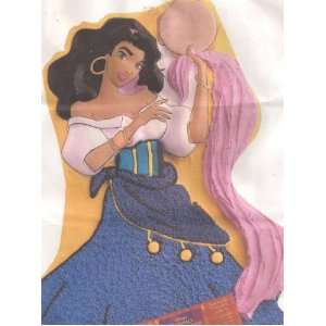 Wilton Cake Pan: Disney Princess Esmeralda ~ Hunchback of