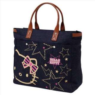 Hello Kitty Tote Bag Denim B&BR Sanrio