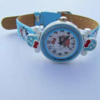Brand New Watch Children Toys Hello Kitty Wristwatch BABY BLUE