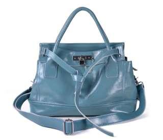 Genuine Leather Women Hobo Tote Handbag Lady Shoulder Messenger Bag