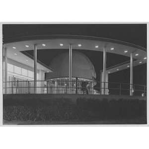 Photo Worlds Fair, Elgin National Watch Co. Dome, framed
