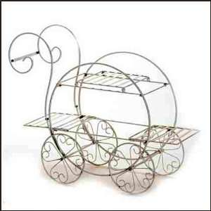 French Flower Cart Plant Stand Patio, Lawn & Garden