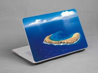 LAPTOP NOTEBOOK SKIN STICKER COVER DECAL DREAM MOLOKINI ISLAND DELL HP