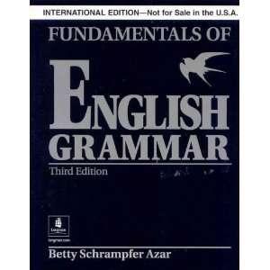 Fundamentals of English Grammar without Answer Key (Black