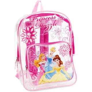 Disney Princesses Clear Backpack Bags