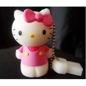 8GB Cute Pink Hello Kitty Style USB flash drive with