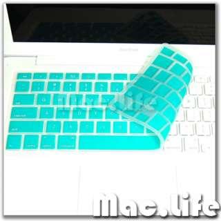 AQUA BLUE Silicone Keyboard Cover Skin for Macbook 13