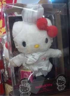 Hello Kitty x Hotel Okura Rare Chef Kitty Plush doll Japan limited