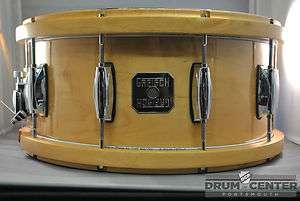 Gretsch Full Range Maple Snare Drum   6.5x14   Wood/Metal Hoops   Free