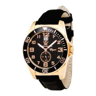 English Laundry Mens EL004 Elegant Collection Rose Gold Tone Watch