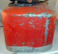 Vtg Mercury KIEKHAEFER 6 Gallon FUEL Tank GAS Outboard Boat Motor CAN