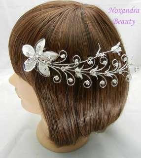 170mm Bridal Crystal Rhinestone Hair Pin Comb P3653
