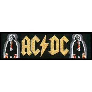 AC/DC Powerage Logo Rock Roll Band Patch