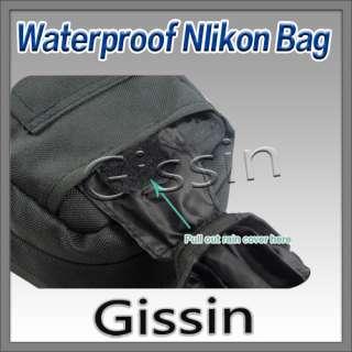 Waterproof Camera Case Bag for Nikon D7000 D5000 D3000