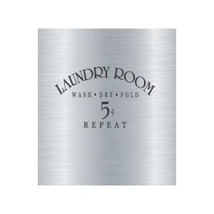 Laundry room..   Removeable Wall Decal   selected color: Silver   Want