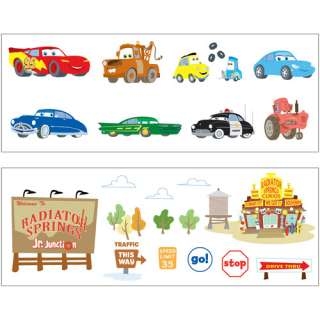 Disney Baby   Cars Wall Decals Cars