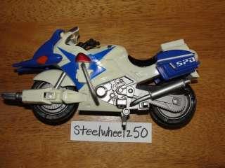 Power Rangers SPD Blue Ranger Patrol Cycle 2004 Bandai Motorcycle S.P
